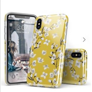 Casely Yellow Floral iPhone X/XS Case